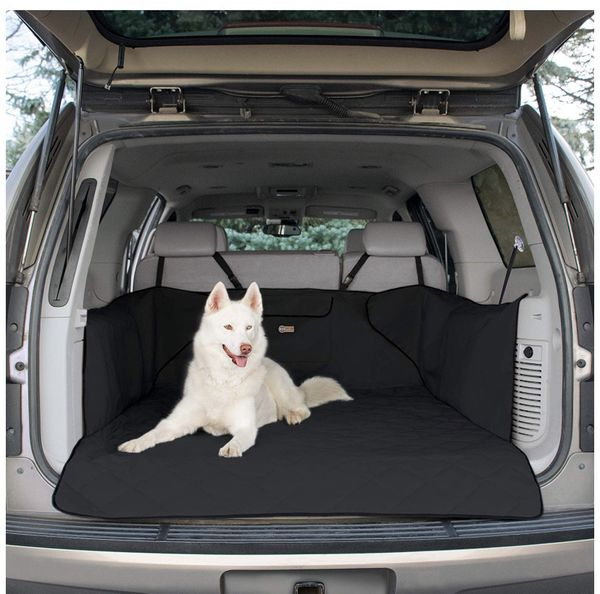 K&H Pet Products Quilted Cargo Pet Cover & Protector for Dogs - Cargo Liner with Side Wall Protectors