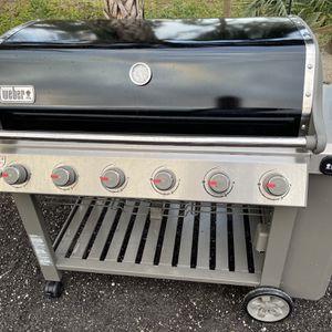 Wener Genesis 4 6 Burner Grill for Sale in West Palm Beach, FL