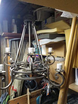 Steel chandelier for Sale in Westminster, CO