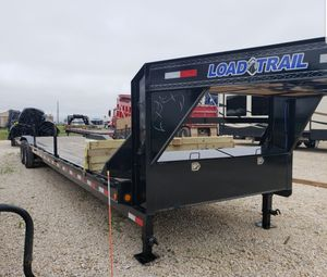 Two Car Hauler Trail Flat bed for Sale in Katy, TX