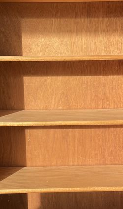 Wood Bookshelves (Light Oak) - Quantity: 2 for Sale in Vancouver,  WA
