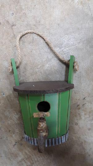 Small cute bird shabby chic bird house for Sale in Kennewick, WA