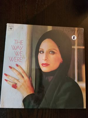 THE WAY WE WERE Vinyl LP Album Barbra Streisand for Sale in Willowbrook, IL