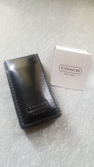 NWT Authentic Coach Leather Money Clip for Sale in Denver, CO