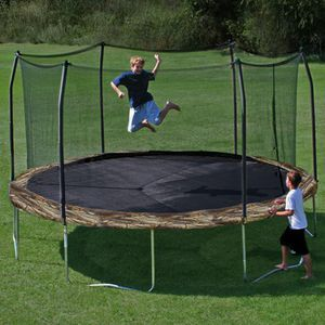 Trampoline with safety enclosure 12 ft. Camouflage for Sale in Saint Paul, MN