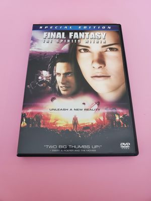 Final Fantasy The Spirits Within DVD for Sale in Everett, WA