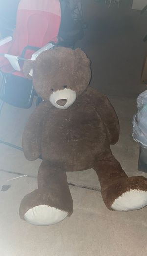 Teddy bear big for Sale in San Diego, CA