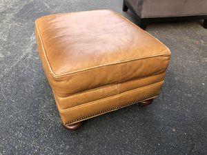 Leather ottoman for Sale in Atlanta, GA