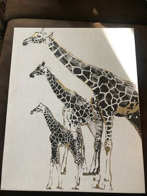 Giraffe canvas for Sale in Fresno, CA
