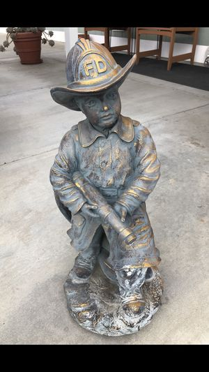 Fireman statue for a water fountain. for Sale in Anaheim, CA