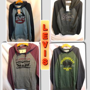 Levi's Light weight Men's New sweater hood $20 each for Sale in Tinton Falls, NJ