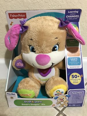 New Fisher-Price Laugh&Learn Smart Stages Sis for Sale in Miami, FL