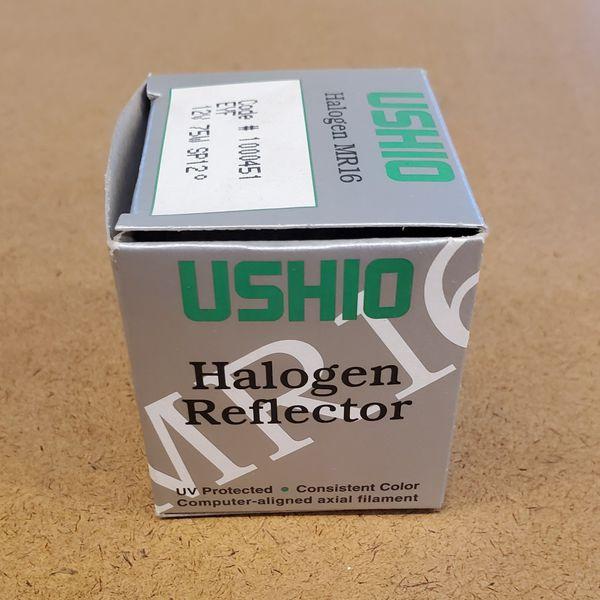 CLEARANCE WHOLESALE Ushio Halogen Mr16 Reflector Bulb EYF 12V 75W SP12 Degree 1000451