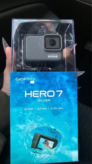Go pro hero silver 7! for Sale in Pico Rivera, CA