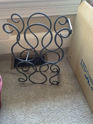Wrought Iron Wine Rack for Sale in Catharpin, VA
