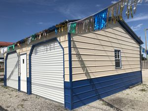 Steel Metal Garage Building for Sale in Haines City, FL