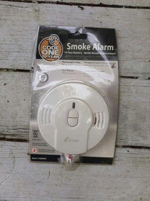 New code one Smoke Alarm ditector 10 years warranty for Sale in Orlando, FL