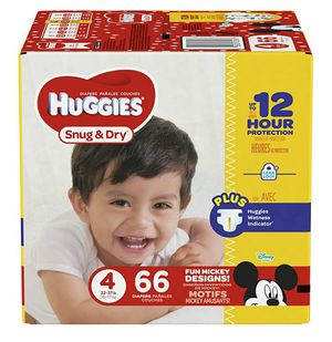 Huggies size 4 for Sale in Haines City, FL