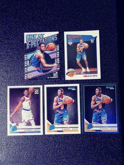 RJ Barrett Five Card Rookie Lot. for Sale in Waco,  TX