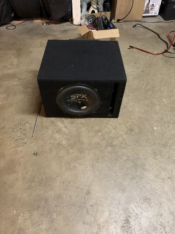 Spx Pro audio subwoofer