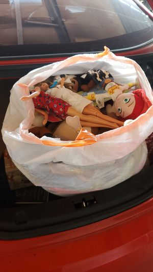 Bag full of plushies for Sale in Los Angeles, CA