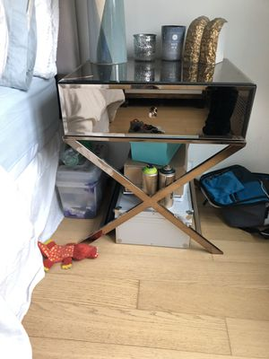 Pair of Wayfair Glass End Tables for Sale in New York, NY