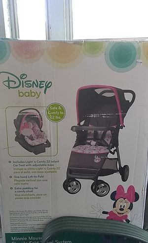 Minnie mouse stroller & car seat for Sale in Neosho, MO