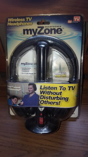 WIRELESS TV HEADPHONES - NEW!!! for Sale in Canterbury, CT
