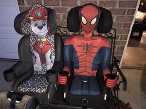 Booster Character Car Seats for Sale in Williamsburg, VA