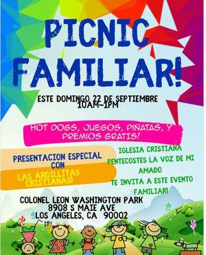 Picnic familiar, free!!! for Sale in Los Angeles, CA
