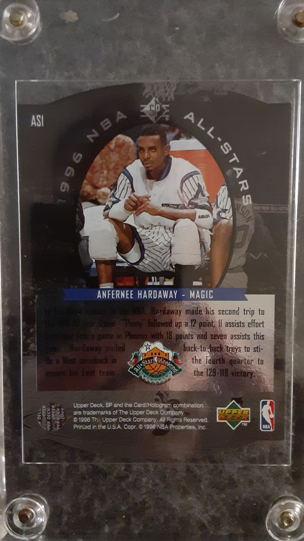 Michael Jordan #101 NBA Rookie Card and a **Hardaway special edition card free