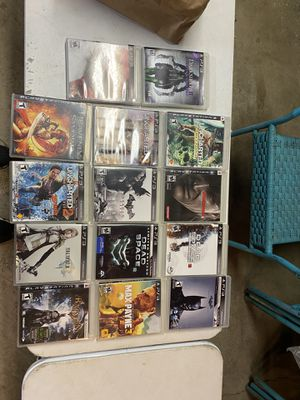 Play station 3 game lot for Sale in Beaverton, OR