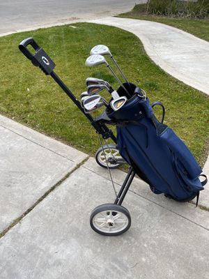 Golf Clubs and Cart for Sale in Fresno, CA