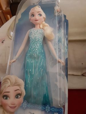 I have a Elsa Barbie Doll for Sale in Riverside, CA