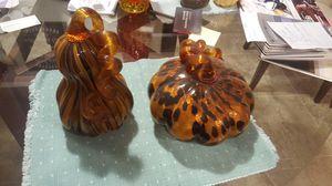 Glass pumkins for Sale in Wildomar, CA