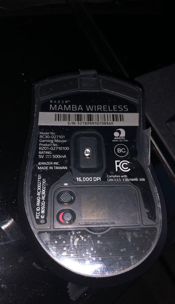 Razer Mamba Wireless Mouse
