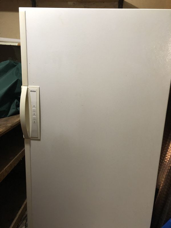 Kenmore freezer with lock