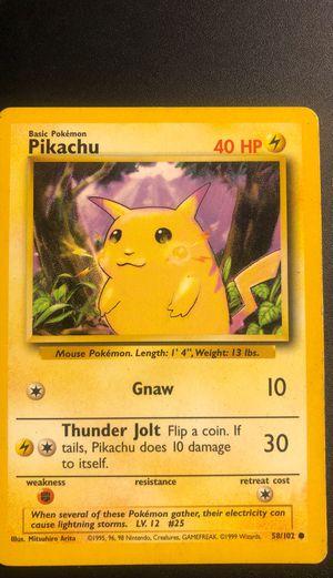 Pokemon card Pikachu for Sale in Allentown, PA