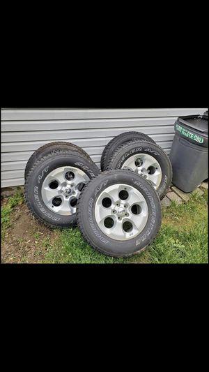 Jeep Wrangler Sahara Wheels and tires 5 for Sale in Philadelphia, PA