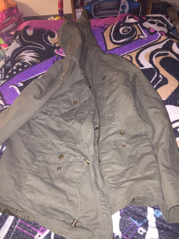 North face , Shaw's , bomber jacket