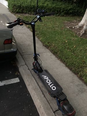 Electric Scooter Apollo Pro 52V with Hydraulic Brakes for Sale in Rancho Cucamonga, CA