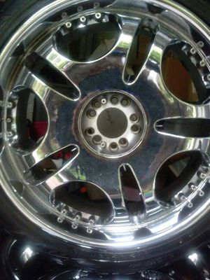 "24"""" rims and tires for Sale in Miramar, FL"