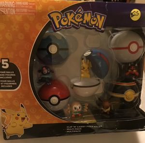 Pokemon balls and figures for Sale in Laurel, MD