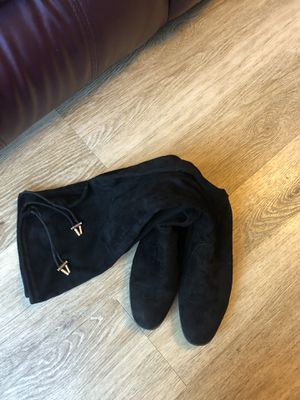 black boots stockings, size 8,5, good condition for Sale in Vancouver, WA