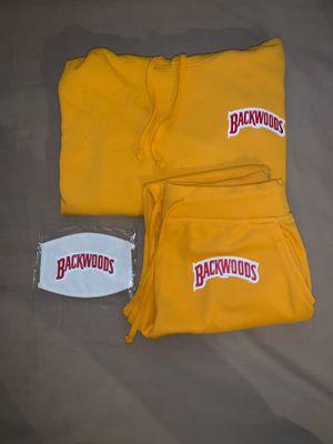 Backwoods jogger set w| Mask for Sale in Los Angeles, CA