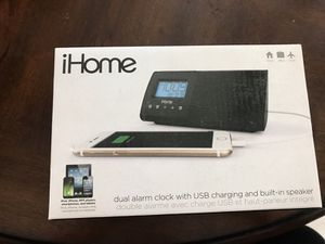 ihome alarm clock charger for Sale in Los Angeles, CA