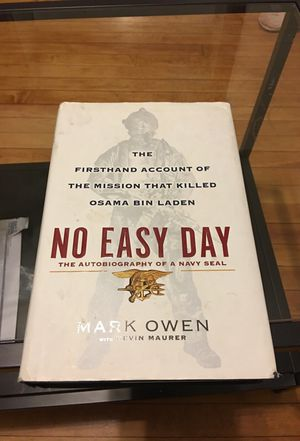 No Easy Day Book Mark Owen for Sale in San Diego, CA