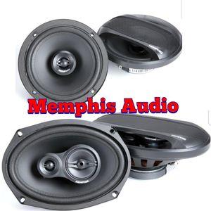 Memphis Audio 6.5+6x9 car speakers for Sale in Montclair, CA