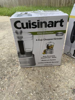 4 cup chopper/grinder - cuisinart for Sale in Sorrento, LA