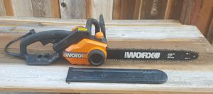 """Worx 18"""" electric chainsaw for Sale in Tracy, CA"""